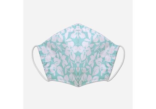 Pocket Square Clothing Unity Mask w/ Filter Pocket (Mint/Tropical)