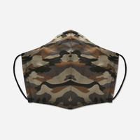 Unity Mask w/ Filter Pocket (Brown/Camo)