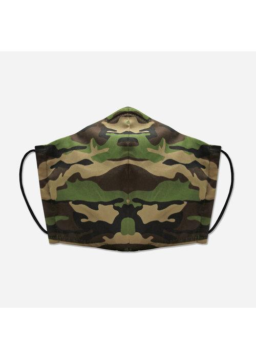 Pocket Square Clothing Unity Mask w/ Filter Pocket (Military/Camo)