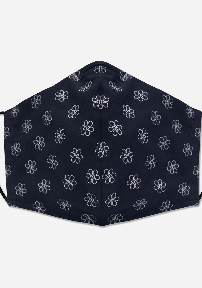 Unity Mask w/ Filter Pocket (Navy/Daisy)