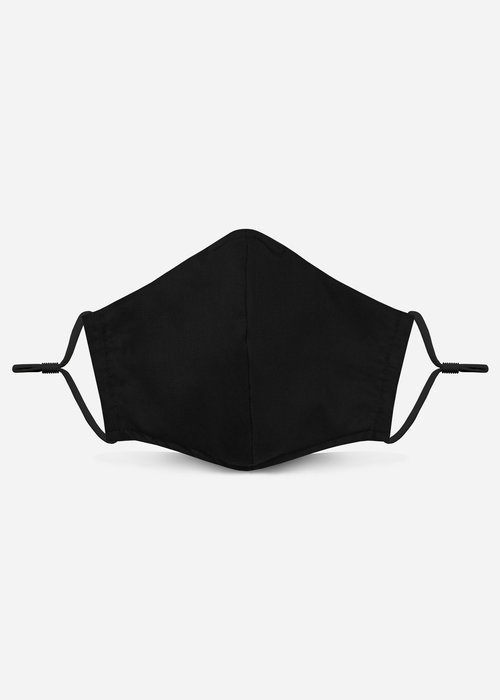 Pocket Square Clothing Unity Mask 2.0 w/ Filter Pocket (Black)