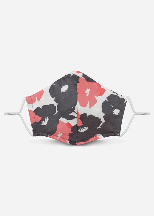 Pocket Square Clothing 2.0 Unity Mask w/ Filter Pocket (Gray/Floral)