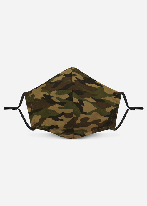Pocket Square Clothing Unity Mask 2.0 w/ Filter Pocket (Tan/Camo)