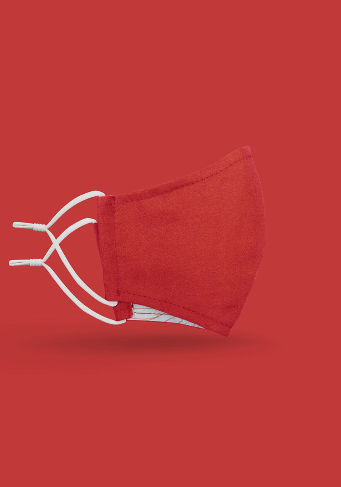 Children's Unity Mask 2.0 w/ Filter Pocket (Red)