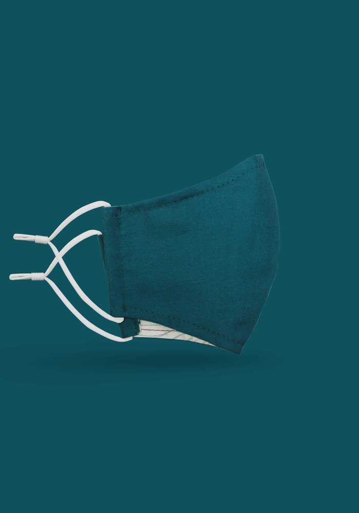 Children's Unity Mask 2.0 w/ Filter Pocket (Teal)
