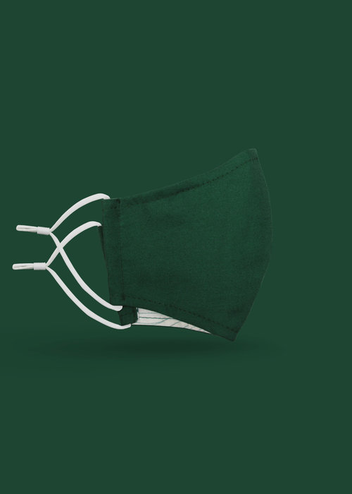 Pocket Square Clothing Children's Unity Mask 2.0 w/ Filter Pocket (Green)