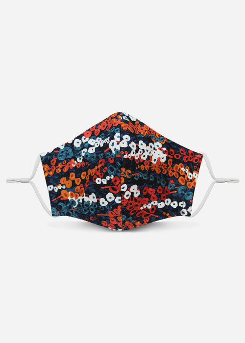 Pocket Square Clothing Unity Mask 2.0 w/ Filter Pocket (Reef)