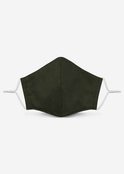 Pocket Square Clothing 2.0 Unity Mask w/ Filter Pocket (Dark Olive)