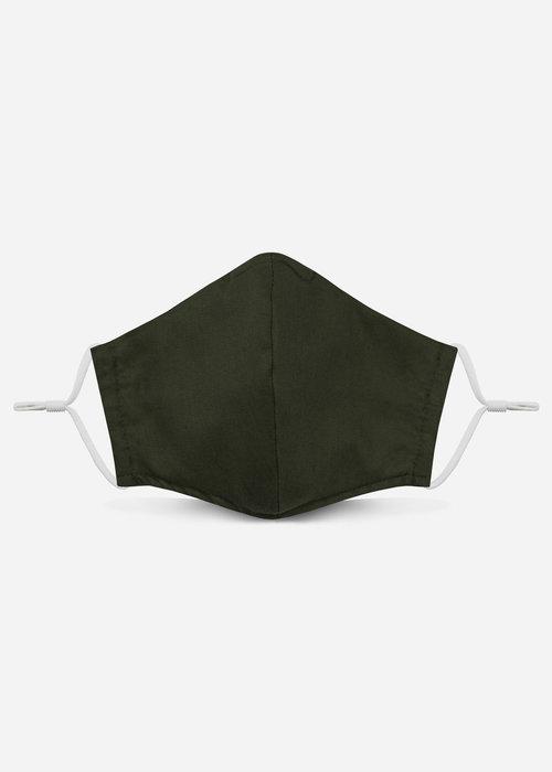 Pocket Square Clothing Unity Mask 2.0 w/ Filter Pocket (Dark Olive)