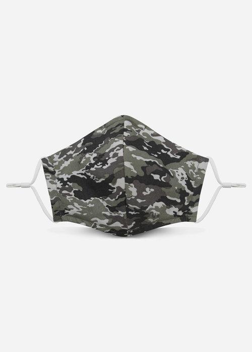 Pocket Square Clothing 2.0 Unity Mask w/ Filter Pocket (Snow Camo)