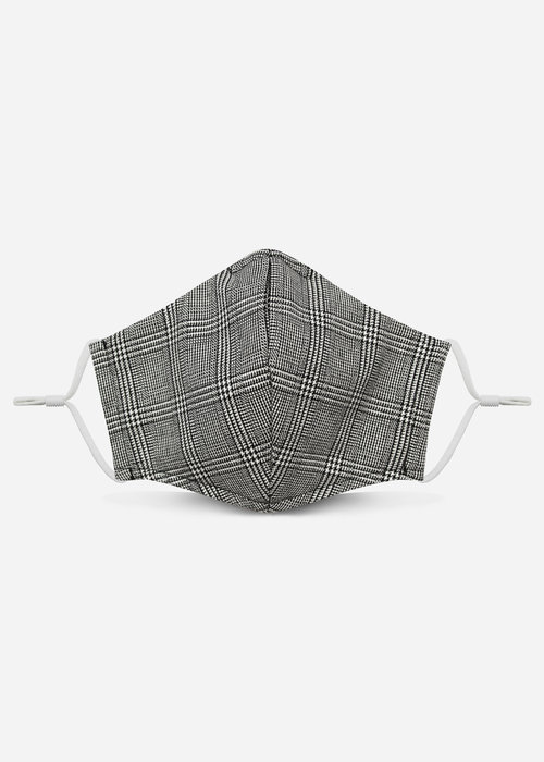 Pocket Square Clothing Unity Mask 2.0 w/ Filter Pocket (Glen Plaid)