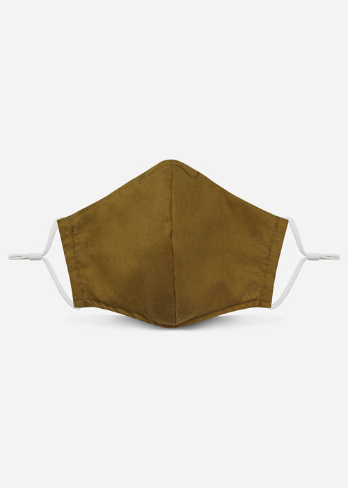 Pocket Square Clothing Unity Mask 2.0 w/ Filter Pocket (Camel)