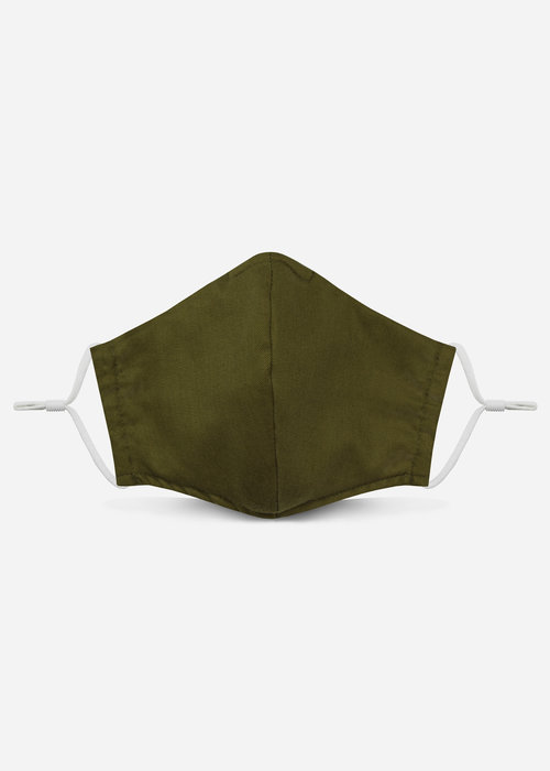 Pocket Square Clothing Unity Mask 2.0 w/ Filter Pocket (Olive)