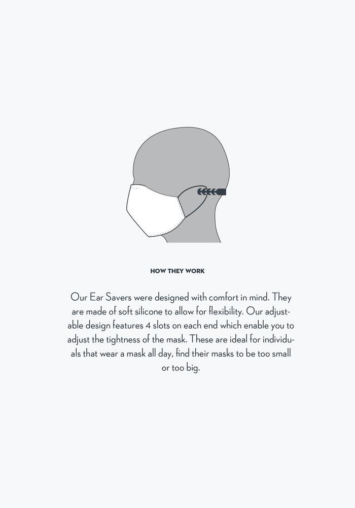 3 Pack - White Ear Saver