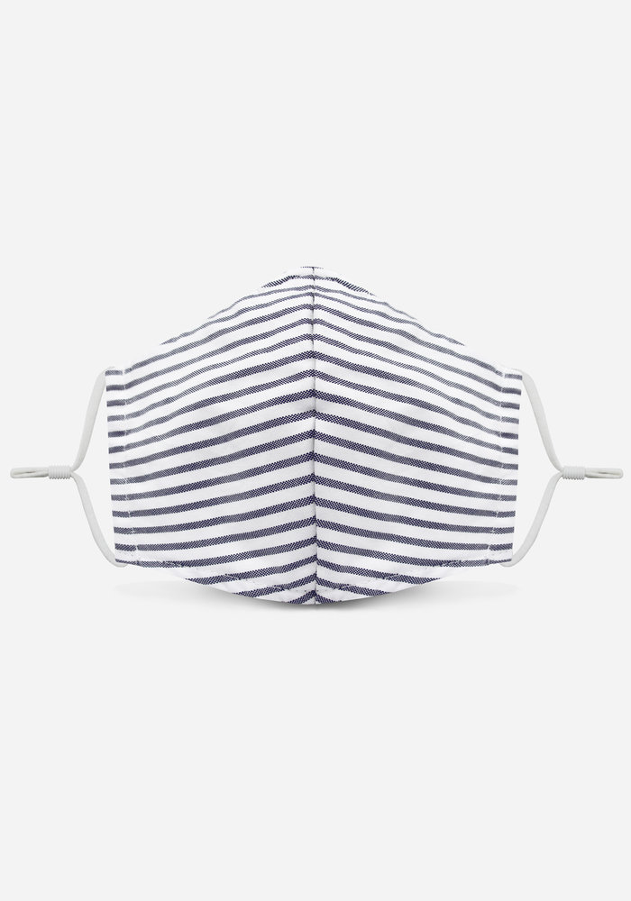 1.0 Unity Mask w/ Filter Pocket (Marine Blue /Stripe)