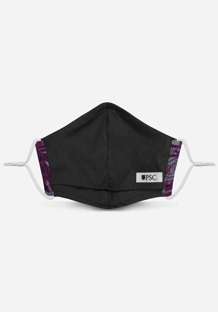 2.0 Unity Mask  w/ Filter Pocket (Purple Floral)