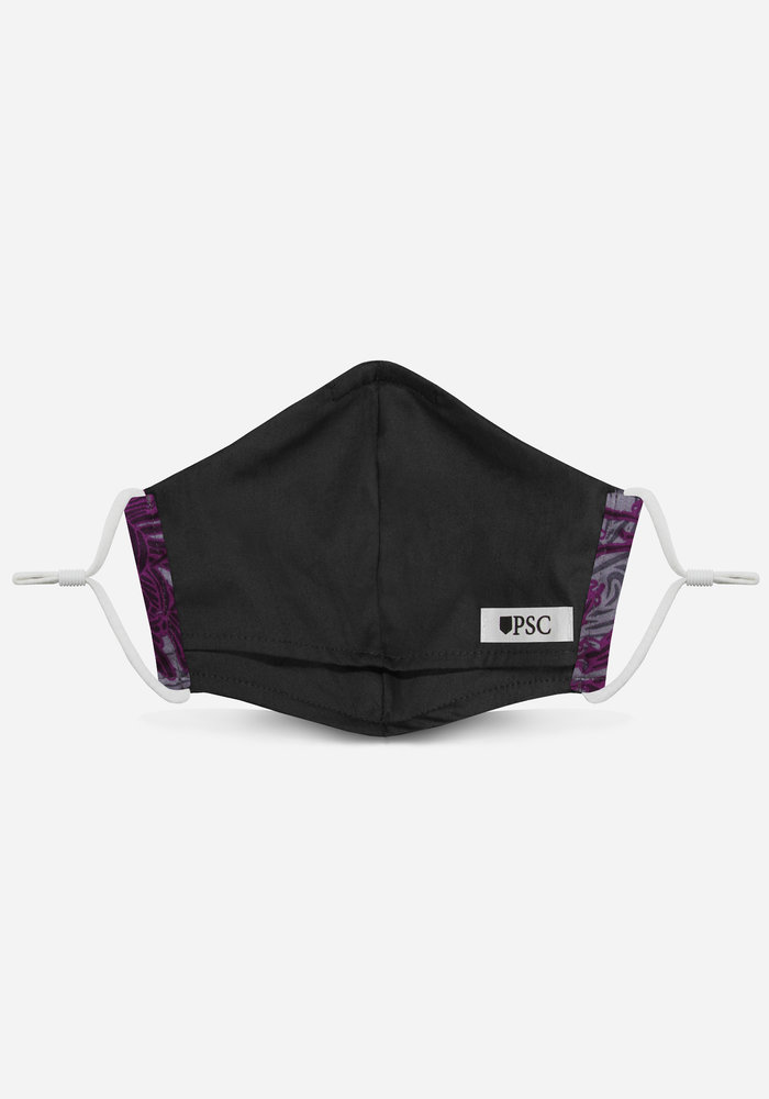 Unity Mask 2.0 w/ Filter Pocket (Purple Floral)