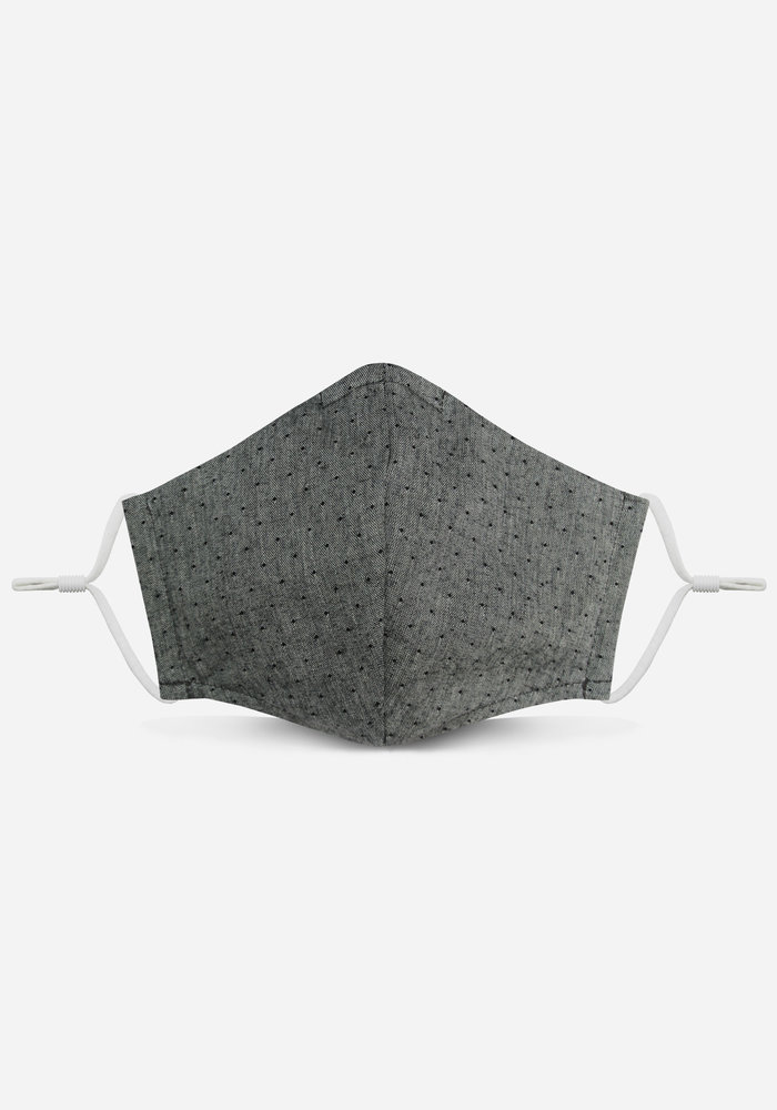 2.0 Unity Mask w/ Filter Pocket (Gray Polka Dot)