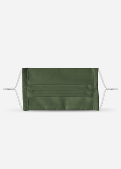 Pocket Square Clothing LA Protects - Olive Pleated Mask