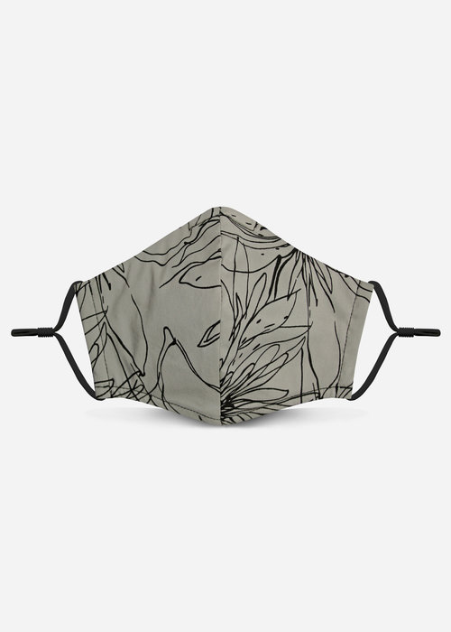 Pocket Square Clothing 2.0 Unity Mask w/ Filter Pocket (Taupe/Abstract)