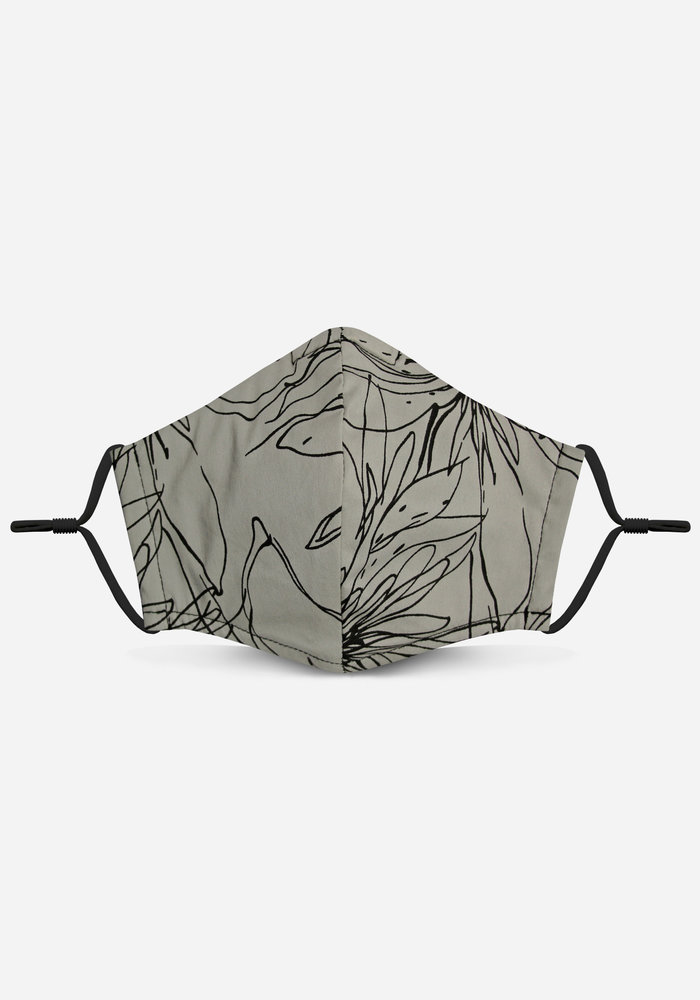 2.0 Unity Mask w/ Filter Pocket (Taupe/Abstract)