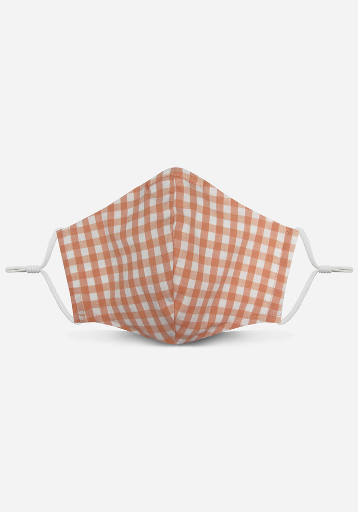 2.0 Unity Mask w/ Filter Pocket (Peach/Gingham)