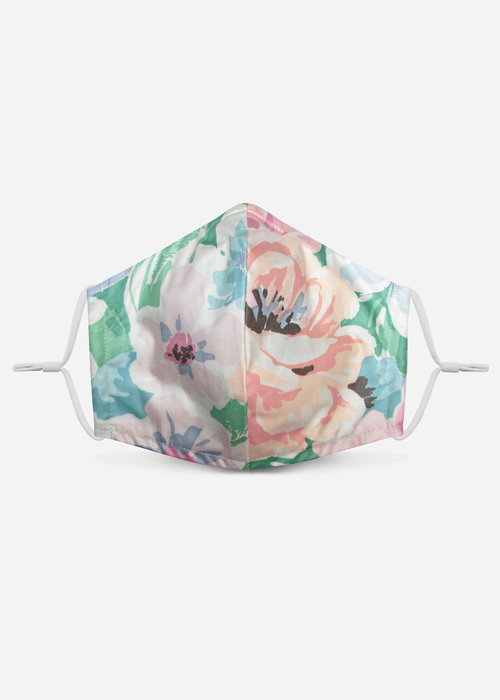 Pocket Square Clothing 1.0 Unity Mask w/ Filter Pocket (Pastel/Floral)