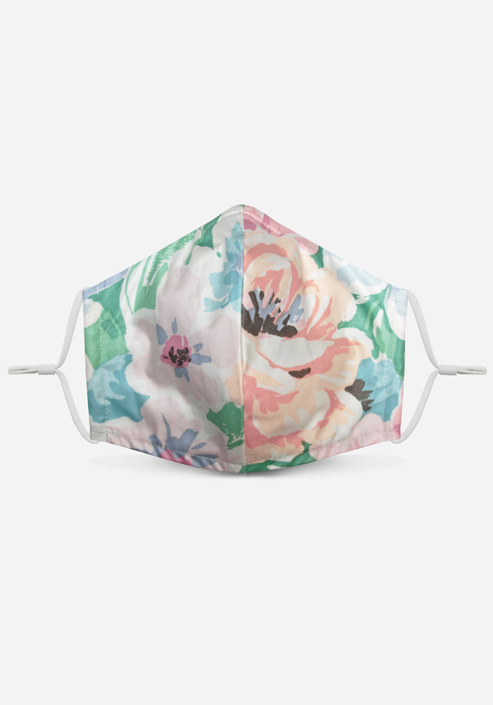 1.0 Unity Mask w/ Filter Pocket (Pastel/Floral)