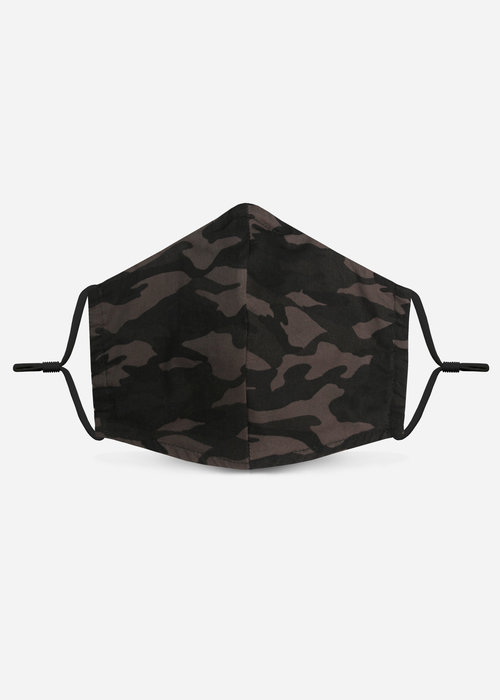 Pocket Square Clothing 1.0 Unity Mask w/ Filter Pocket (Black/Camo)