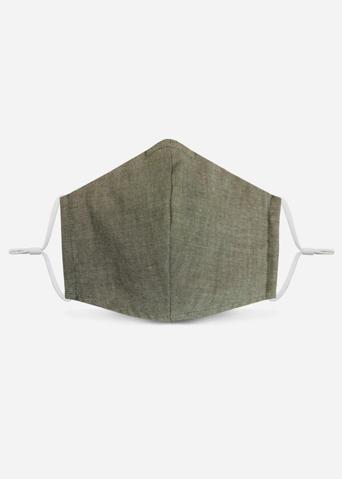 Pocket Square Clothing 1.0 Unity Mask w/ Filter Pocket (Olive/Chambray)