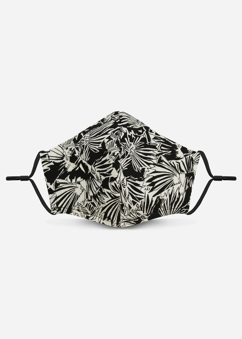 Pocket Square Clothing 2.0 Unity Mask w/ Filter Pocket (Black Abstract)