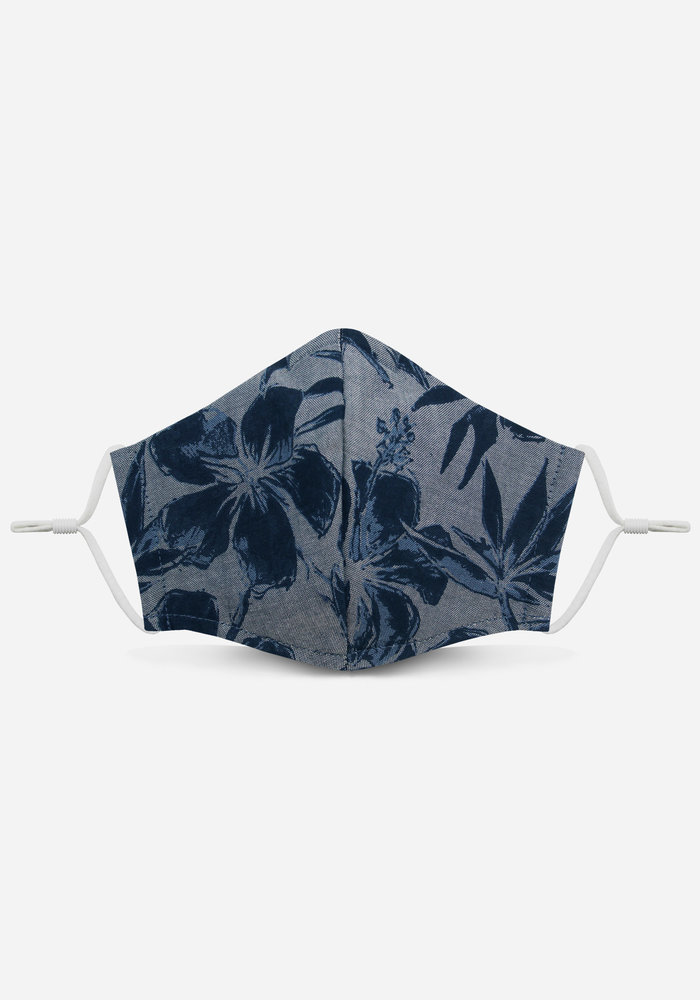 2.0 Unity Mask w/ Filter Pocket (Chambray Tropical)