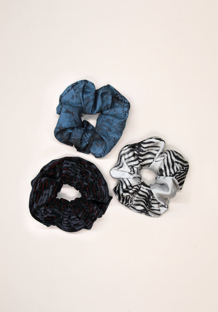 By PSC - Animal Print Scrunchies Set