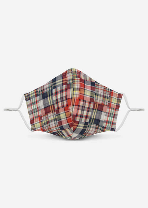 Pocket Square Clothing 2.0 Unity Mask w/ Filter Pocket (Madras)
