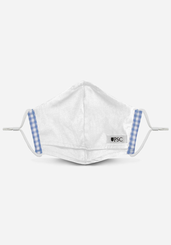 2.0 Unity Mask w/ Filter Pocket (Light Blue Gingham)