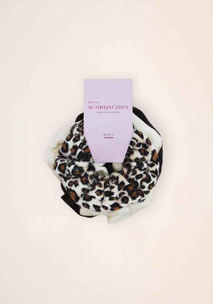 By PSC - Leopard Scrunchies Set