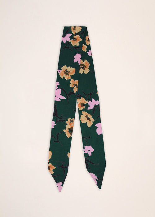 By PSC By PSC - Green Floral Scarf