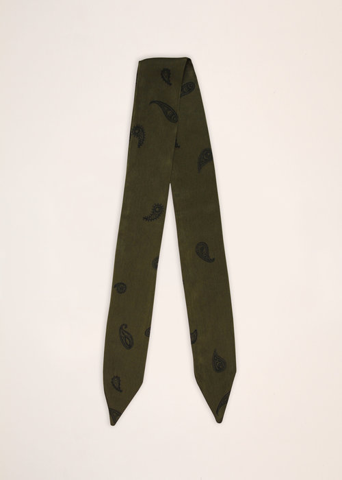 By PSC By PSC - Olive Paisley Scarf