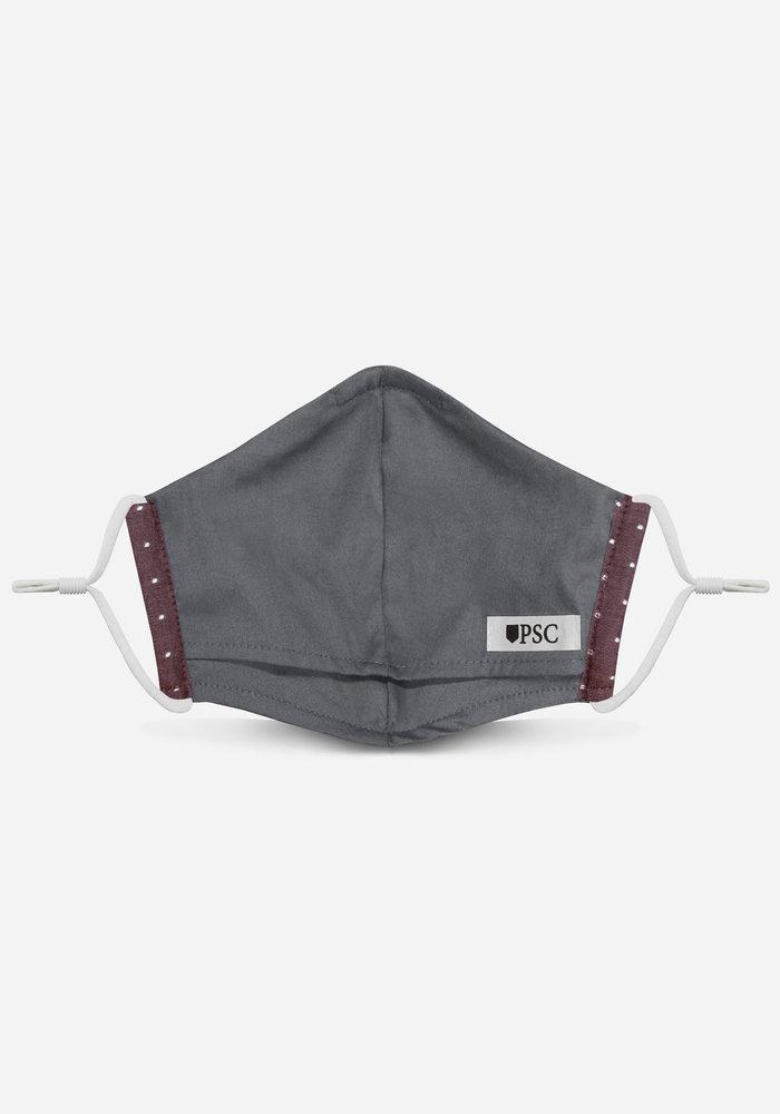 2.0 Unity Mask w/ Filter Pocket (Maroon Polka Dot)