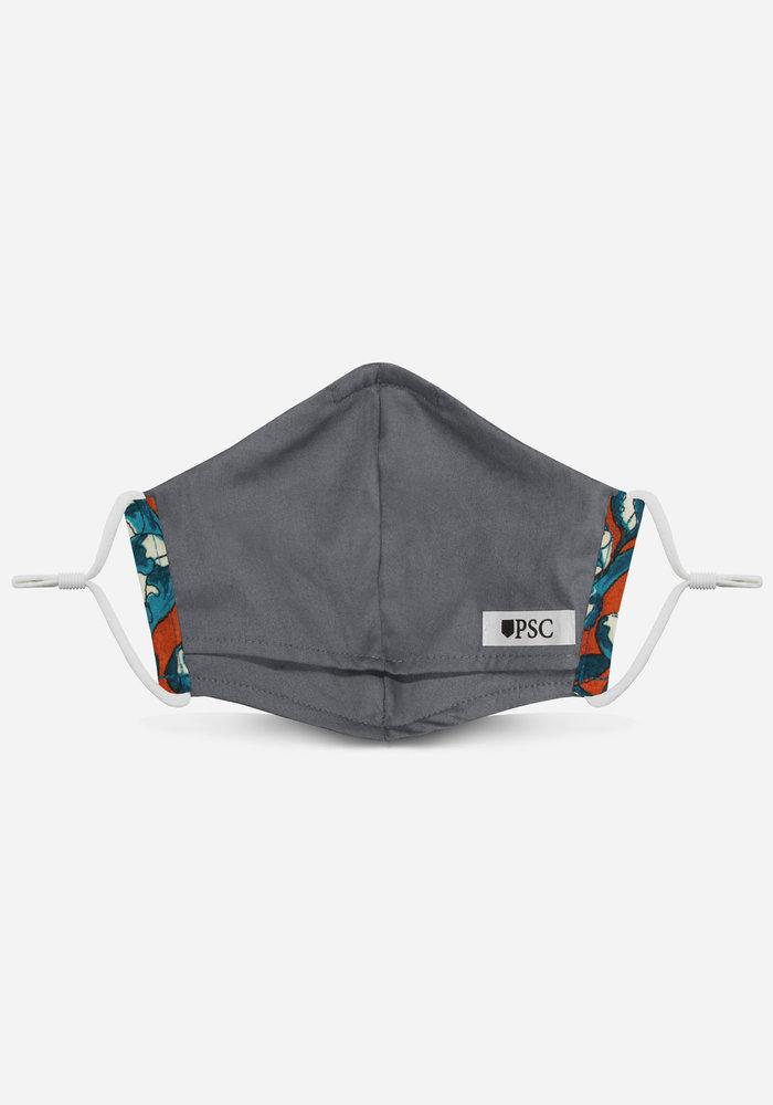 2.0 Unity Mask w/ Filter Pocket (Orange Floral)