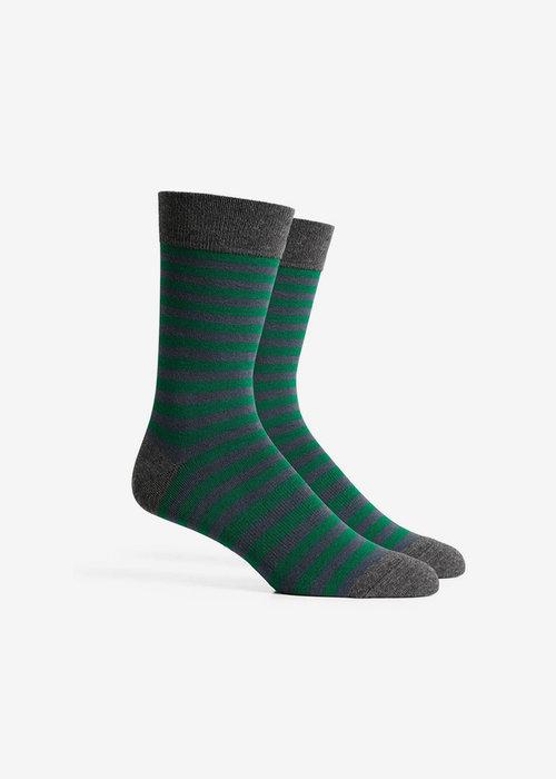 Richer Poorer Theo Crew Sock - Evergreen