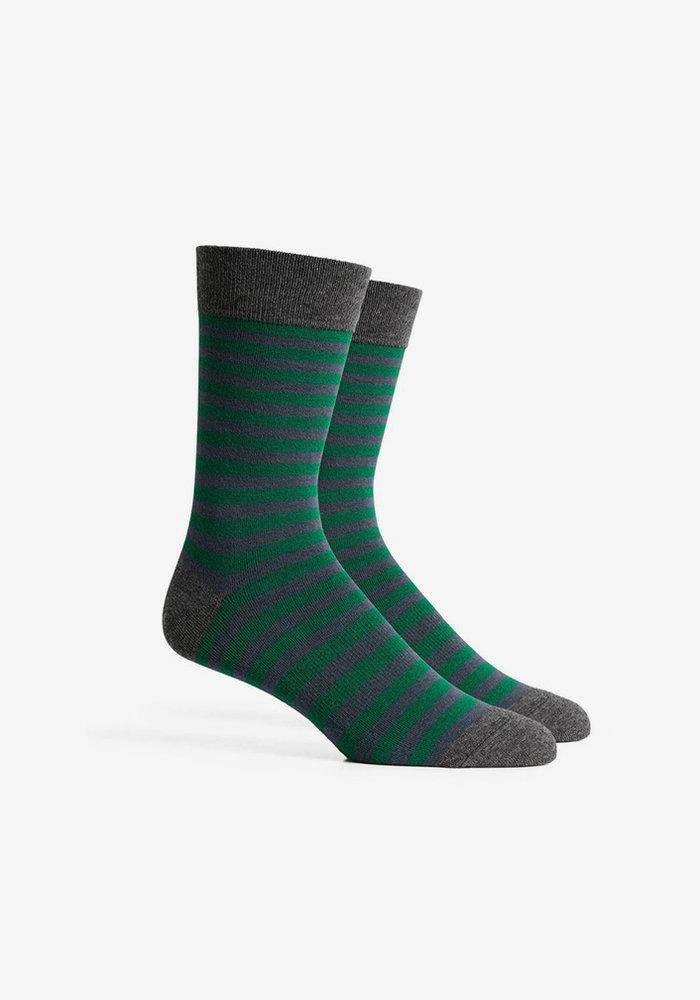 Theo Crew Sock - Evergreen