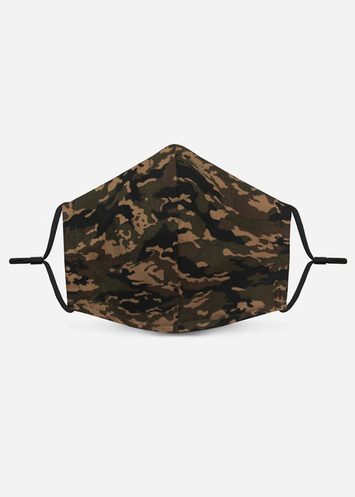Pocket Square Clothing 1.0 Unity Mask w/ Filter Pocket (Forest Camo)