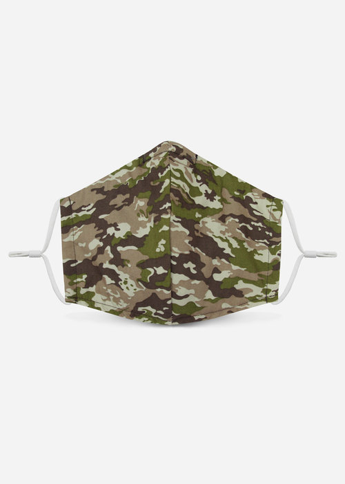 Pocket Square Clothing 1.0 Unity Mask w/ Filter Pocket (Green/Camo)