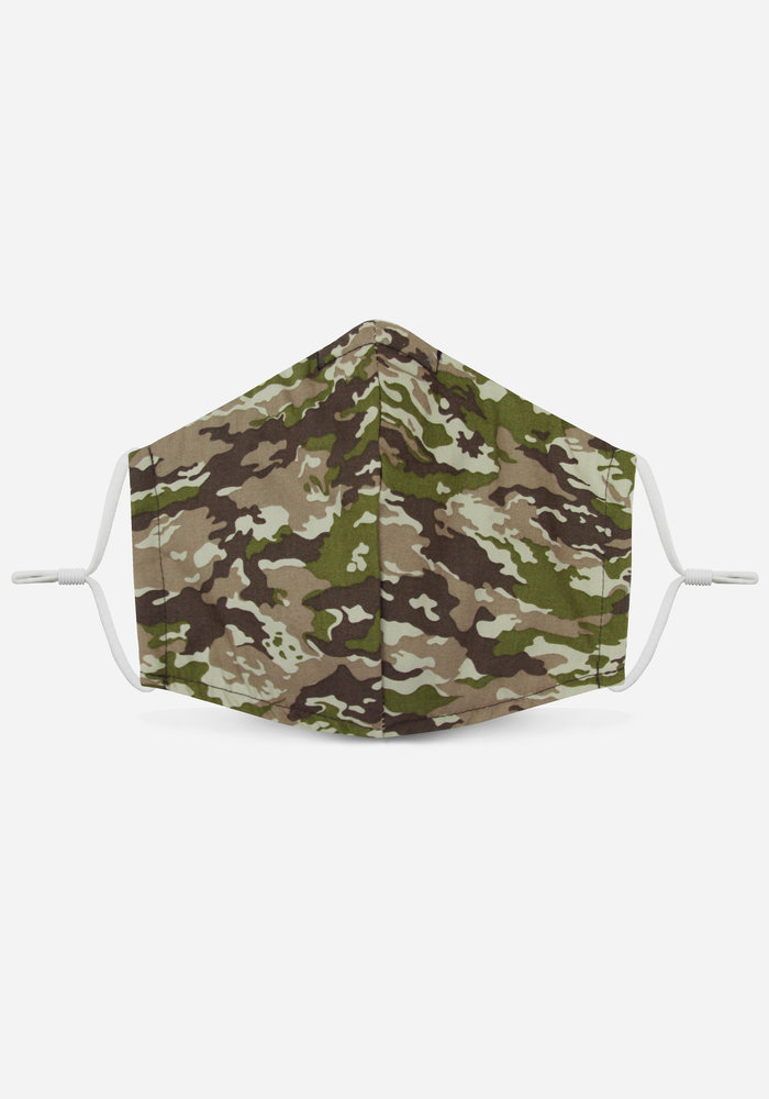 1.0 Unity Mask w/ Filter Pocket (Green/Camo)
