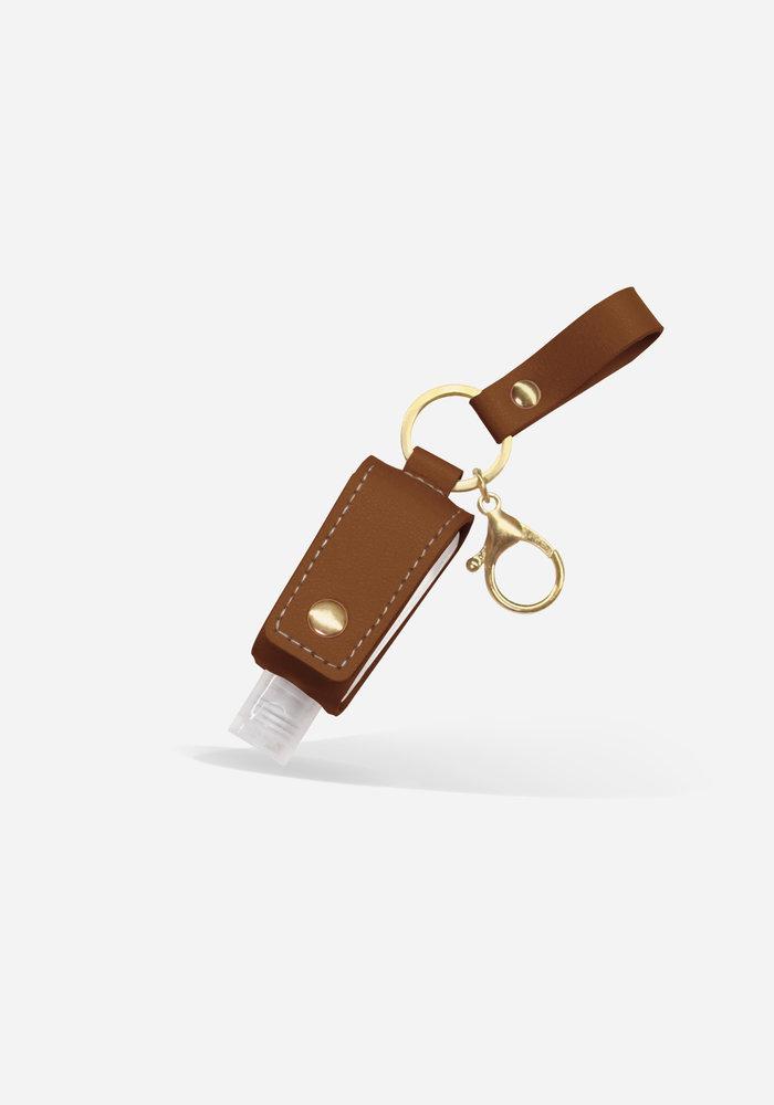 Brown - Sanitizer Key Chain