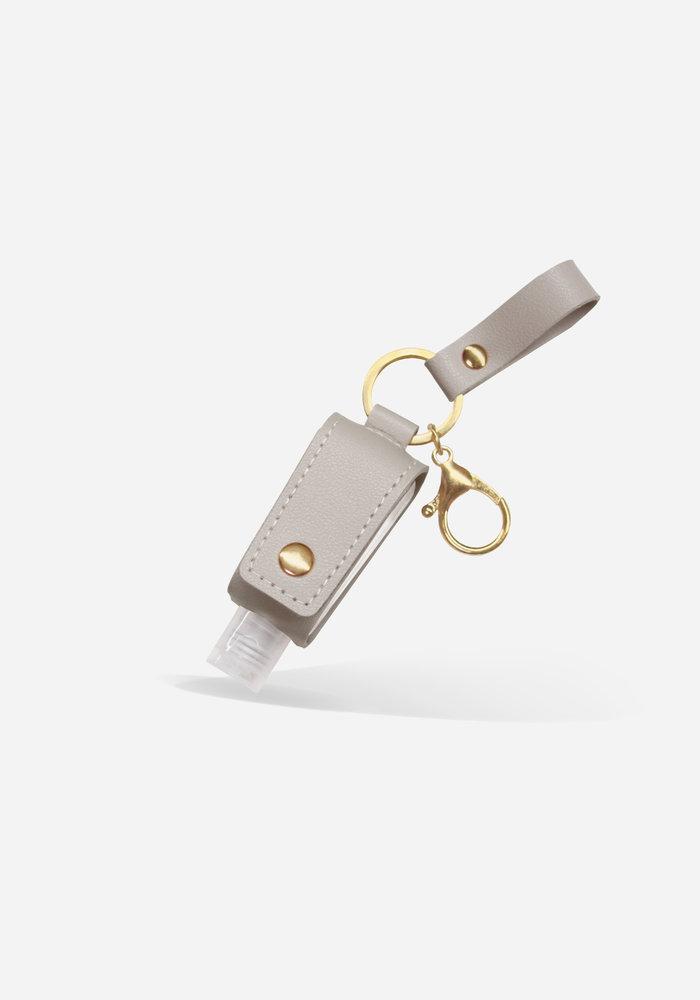 Taupe - Sanitizer Key Chain