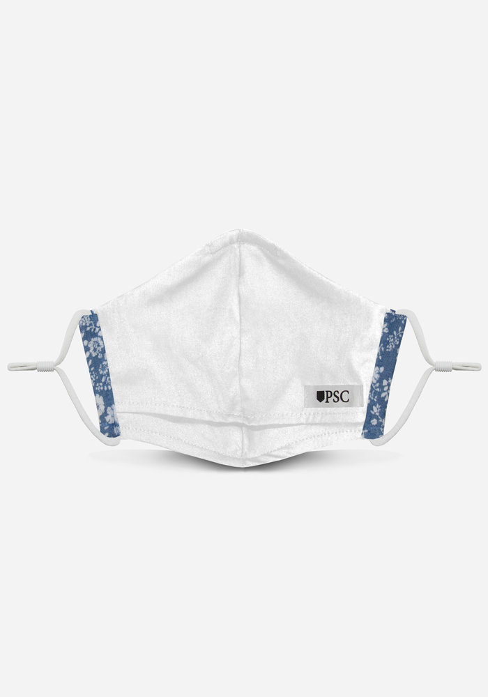 2.0 Unity Mask w/ Filter Pocket (Chambray Micro Floral)