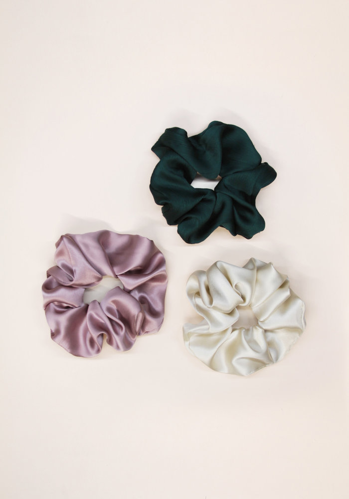 By PSC - Emerald Scrunchies Set