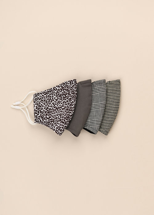 Pocket Square Clothing Leopard Print - Unity Mask Set